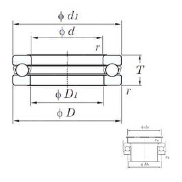 KOYO 51284 thrust ball bearings