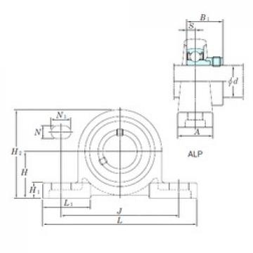 KOYO ALP205-14 bearing units