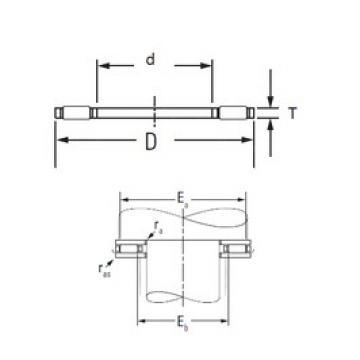 KOYO AXK2035 needle roller bearings
