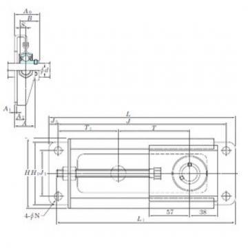 KOYO SBNPTH204-100 bearing units
