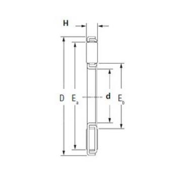 KOYO TP1532-1 needle roller bearings