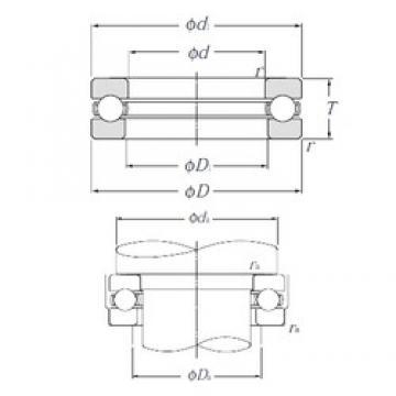 NTN 51415 thrust ball bearings