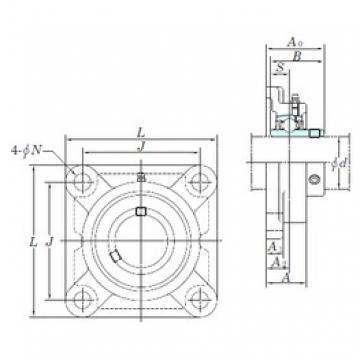 KOYO UXPX11-36 bearing units