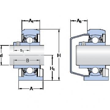 SKF SYFWK 35 LTA bearing units