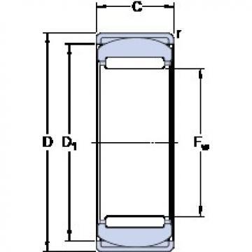 SKF RPNA 18/32 cylindrical roller bearings