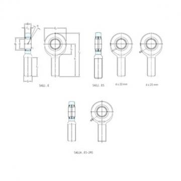 SKF SA8E plain bearings