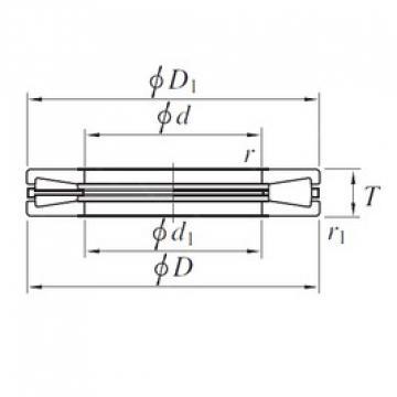 KOYO T921 thrust roller bearings