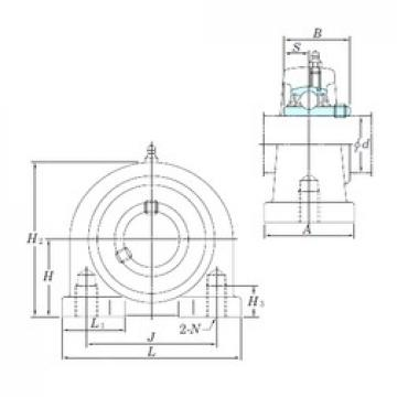 KOYO UCPA201-8 bearing units